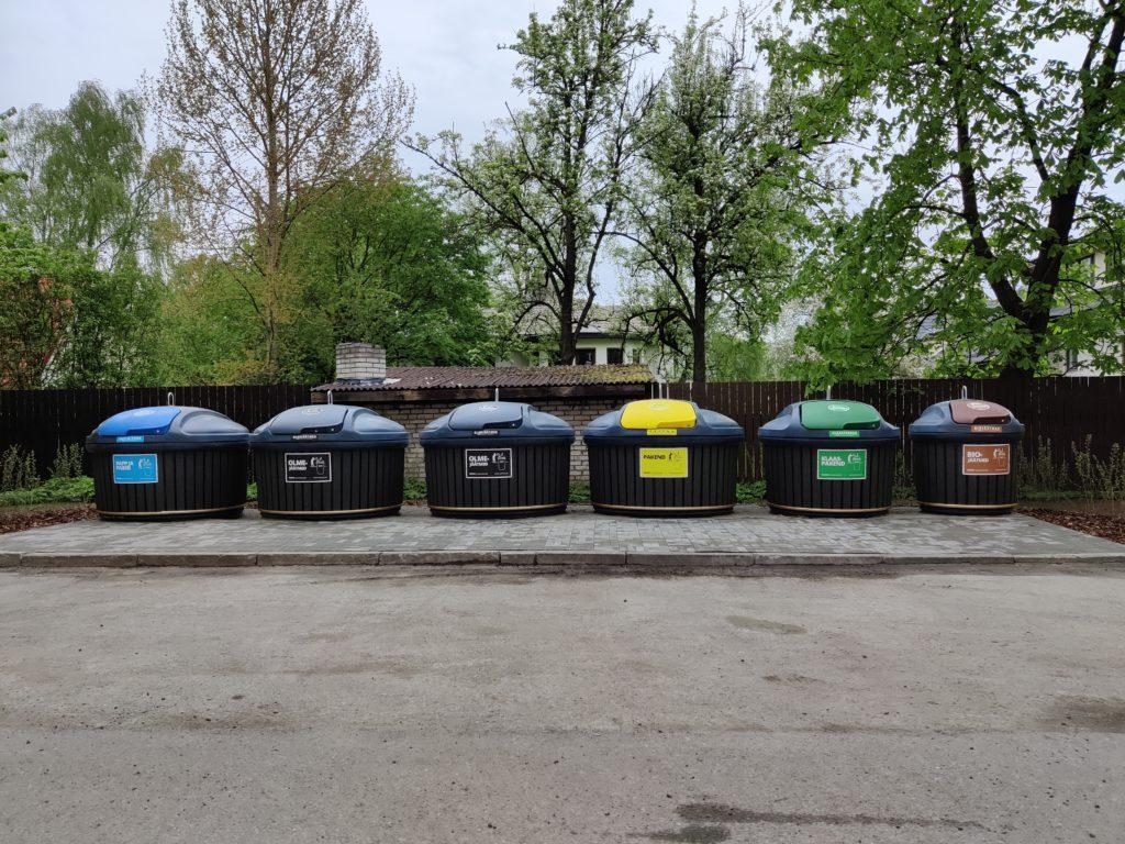 Bagio jäätmete süvamahutid Välja 8 Tallinn